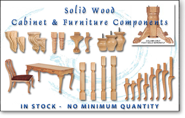 Adams Wood Products Hand Made Solid Wood Furniture and Cabinet – Wood Chair Legs Replacement